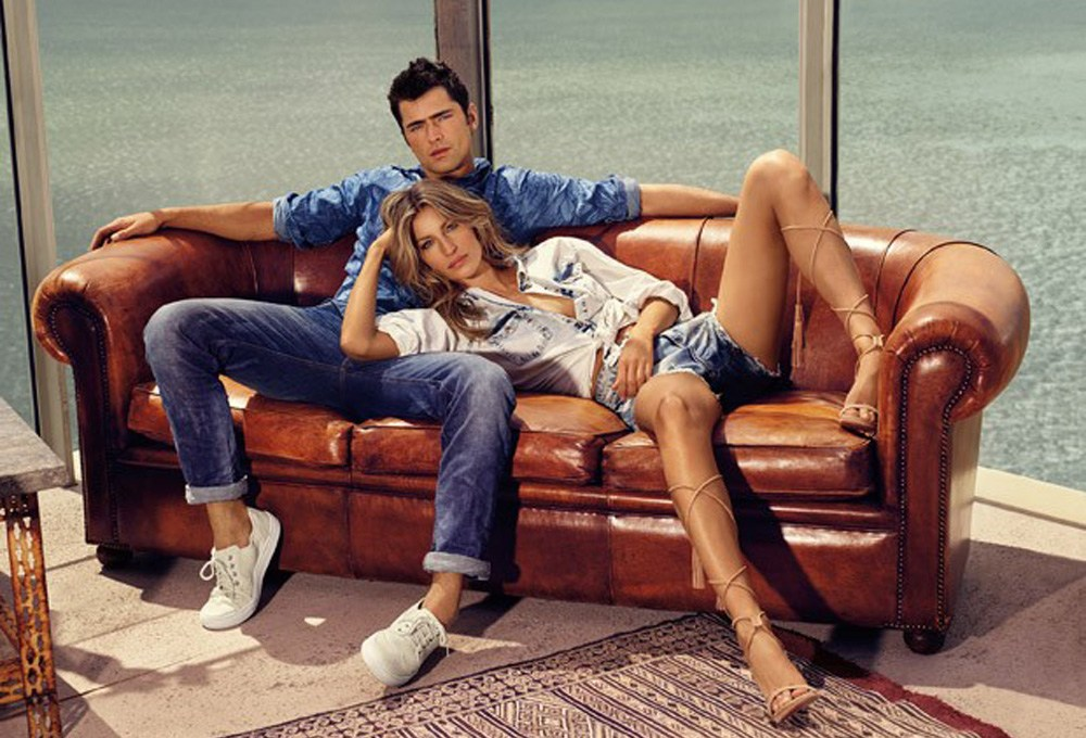 2 Fashion super stars together in one place for the new Ad shots Spring/Summer 2016 Campaign by Colcci photographed by Nino Muñoz.