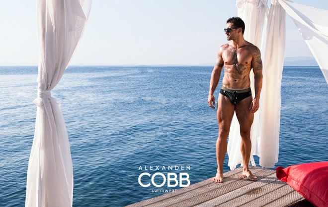 Slip, trunk, boxer short and boxer long cuts perfectly fit men's body, vivid colors and discrete interventions in the shape of bordered finish and strings of other colors, and the Alexander COBB® logo.  Padded, created from top elastic material of the leading European manufacturer.