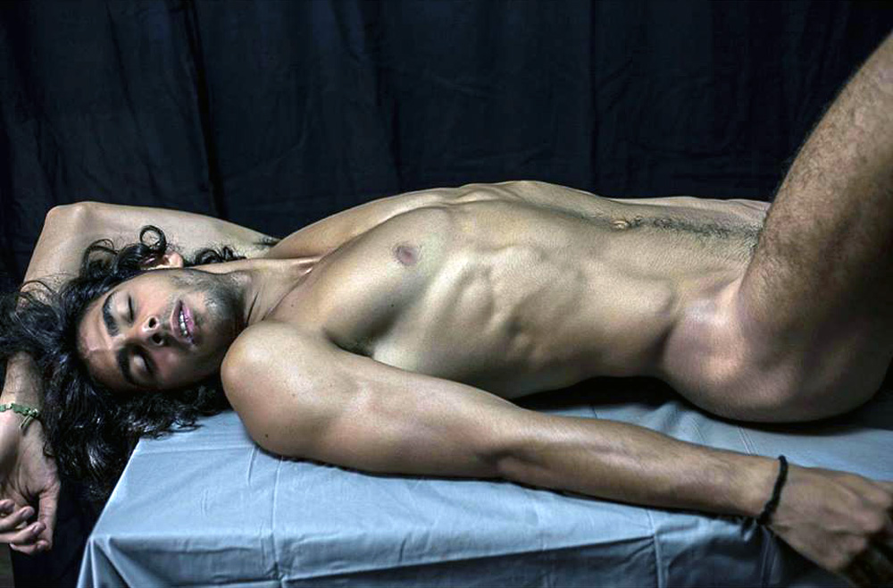 Roma based photographer Andrea Salvini shows off updated work with stunning promising new fashion model Mattia Muratore.