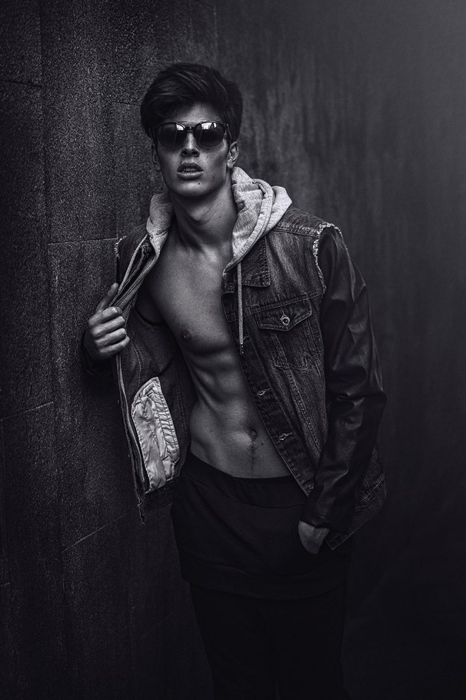 Featuring newcomer Spanish Carlos Fernández (New Face, Agency Isabel Navarro, Madrid) shot by photographer f4ever.es styled by Mayte Luengo.