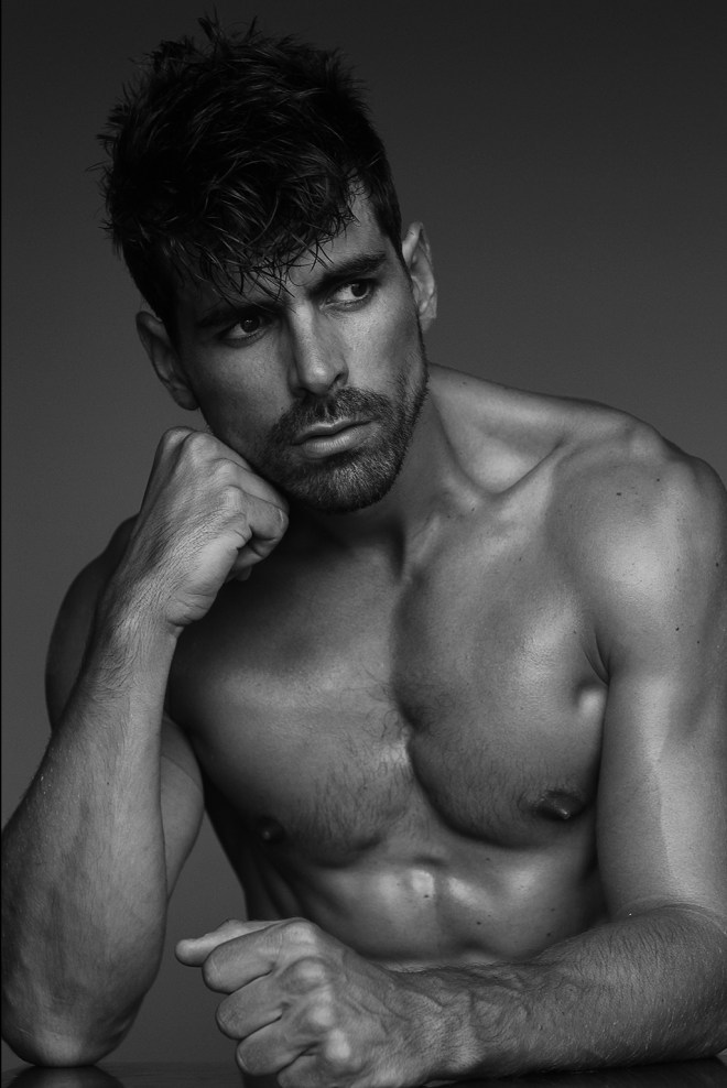 Diego Camara is the new face of @fashionartmgmt and posing delightfully by photographer Miguel Zaragozá for his SERIE UOMO who mix fashion and art, which explores male identity and beauty in black and white. Diego has been working in Miami and Milan.