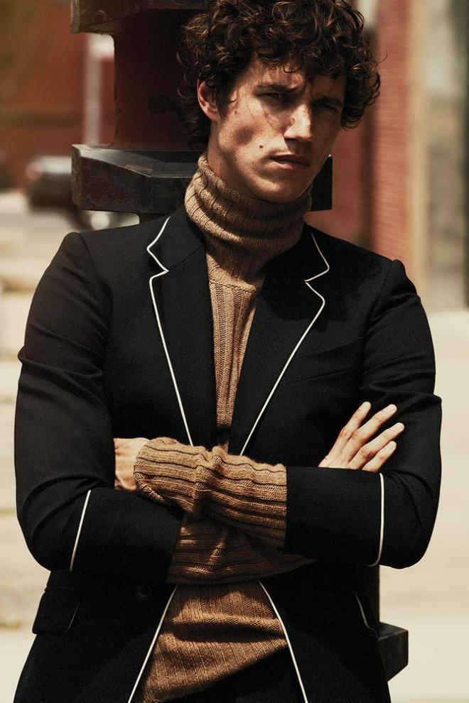 Street Cred: Fall Style for Men a beautiful work presenting really nice fall garments for men only, photography by Cedric Buchet for WSJ. Magazine and Styling by Mel Ottenberg; Model, Antoine Miller at Premium Models; hair, Ward.