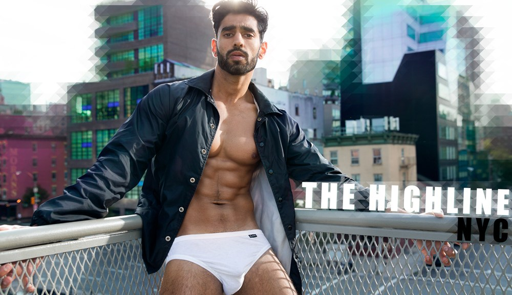 Jarrod Carter an Australian photographer presents for the first time his work at Fashionably Male, he recently did a shoot with a New York Model, Ali Bukhari.