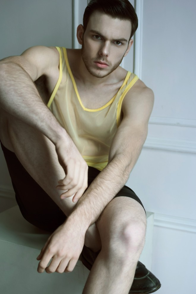 Pedro Puig is the new Vatican Boy presented and snapped by Jo Herrera.