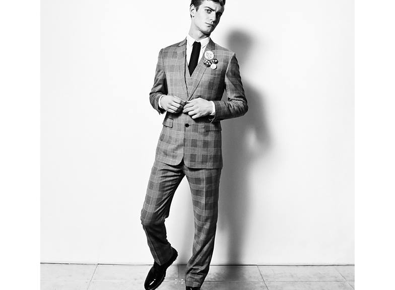 ODDA #9 presents a sophisticated gentleman Ben Allen looks splendid suited by stylist Hope Von Joel and shot by Philip Meech.