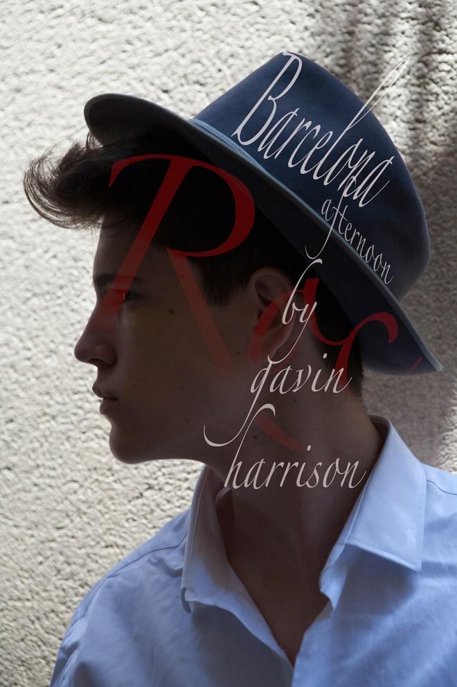 Introducing a new male model Roc Sardau from Marlene models by Gavin Harrison Photography, shot in Barcelona