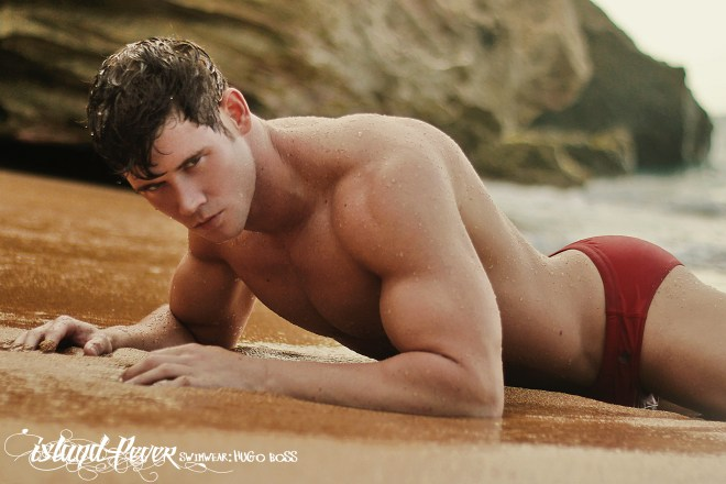The Amazing Brian Lewis in Island Fever posing for the lens of Edwin Lebron.