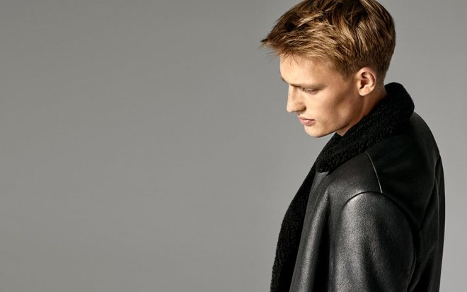 Men's coats - explore moto-inspired shearling and tailored topcoats.