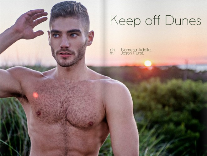 "feature this story ""Keep Off Dunes"" that we shot with Jason Furst (Instagram: @JasonFurst) for Dominus Magazine, Volume 3, Issue 18."