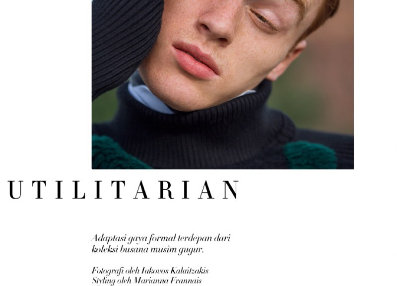 JAKE SHORTALL FOR HARPER'S BAZAAR MAN INDONESIA BY IAKOVOS KALAITZAKIS