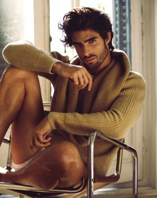 Please read the full interview with supermodel Juan Betancourt for MadMenMag edition F/W 2015, also including new images by photographer Valero Rioja.