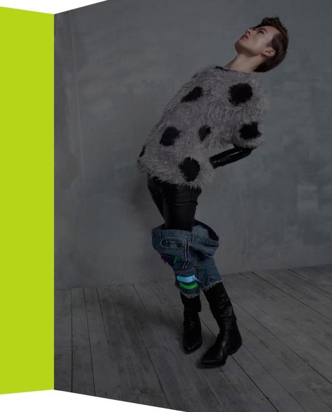 Tomas C. Toth - Fashion Editor/Stylist Philippe Miletto - Makeup Artist Emily Pugh - Set Designer Simon Kuzmickas - Model