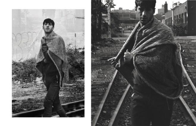 """When in Brooklyn"" a work presented by photographer Alexa Koegel featuring male model Tzahi (Zack) Genish of Yuli Models."