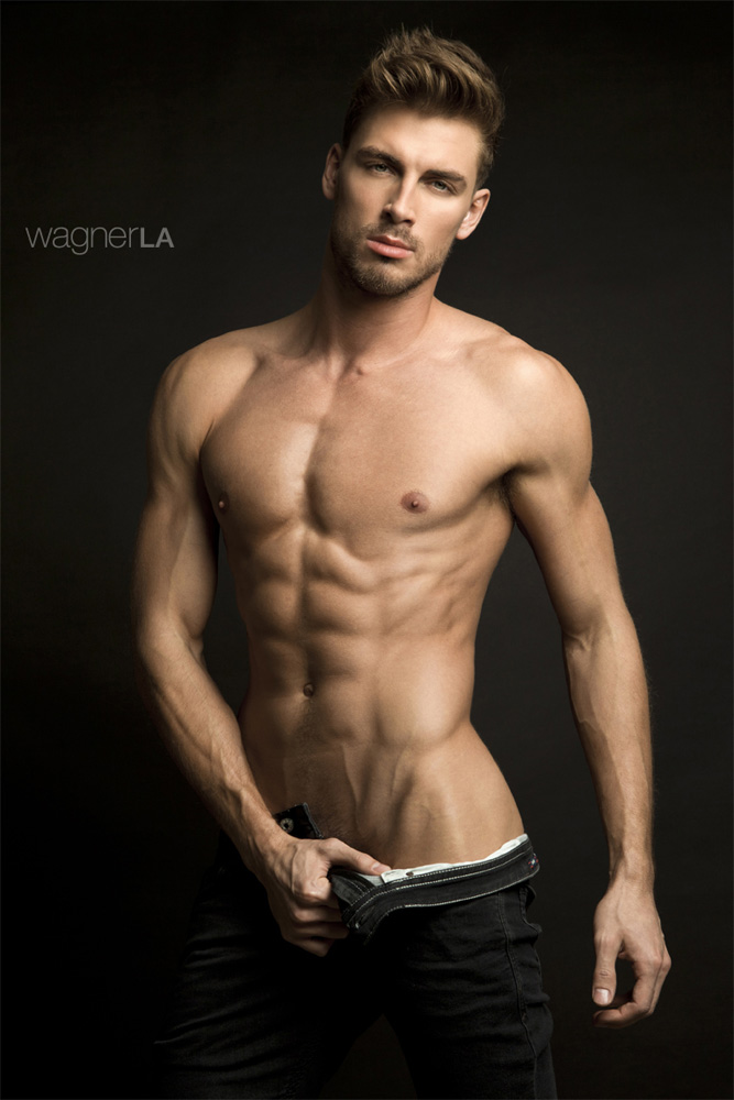 He's Dima Gornovskyi in a photography by David Wagner975
