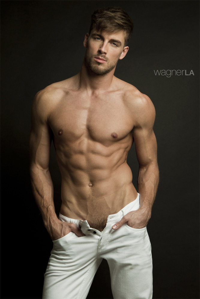 He's Dima Gornovskyi in a photography by David Wagner982