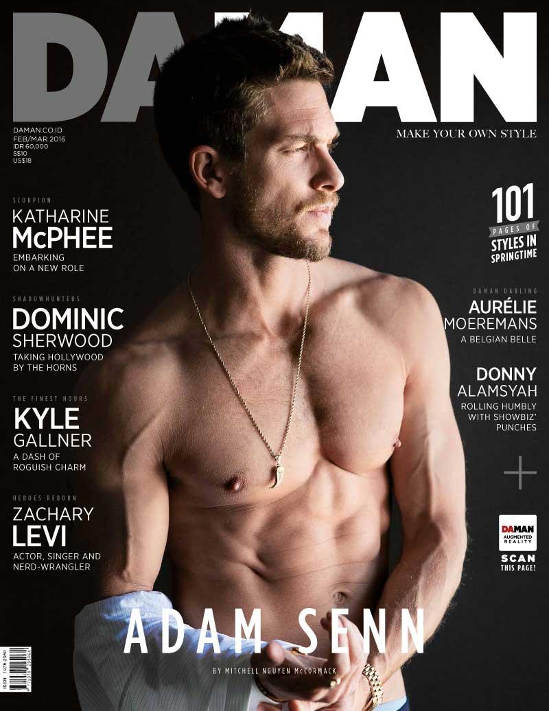 Adam-Senn-2016-Shirtless-Da-Man-Cover