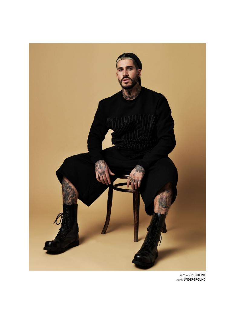 Fabian Domenech for REFLEX HOMME 6