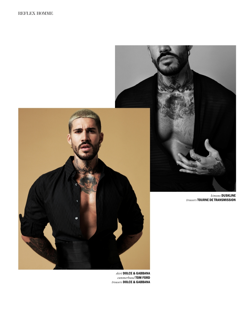 Fabian Domenech for REFLEX HOMME 7