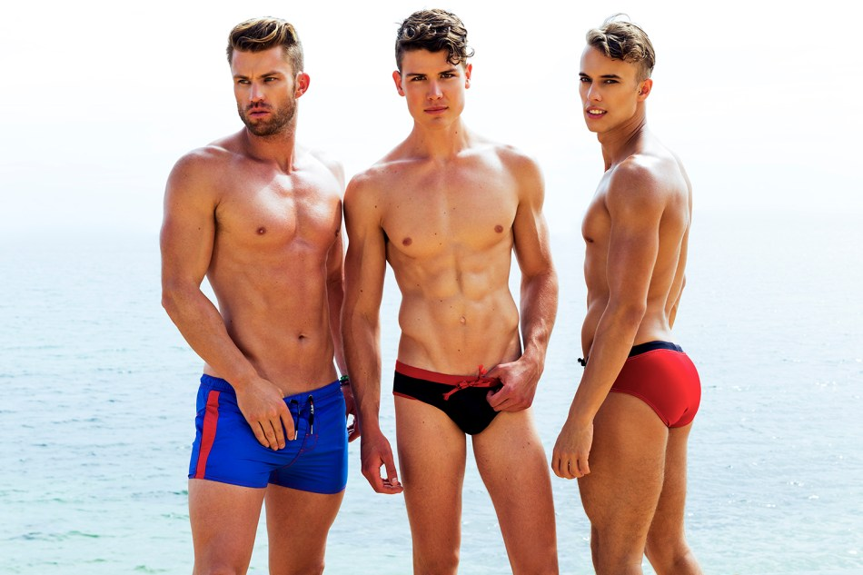 Garrett, Liam & Dave by Trent Pace for Fashionably Male