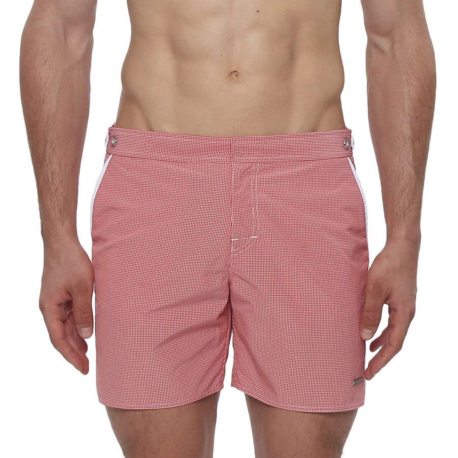 Who wears short shorts? Parke & Ronen men do! This Spring Break heat up Punta Cana or Panama City more than the soon-to-be-summer sun.
