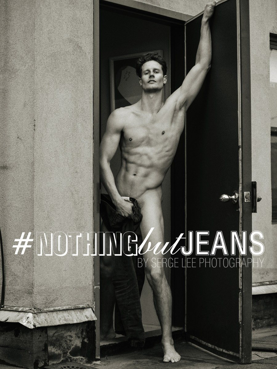 Killing jaw-dropping images with model Wesley Campbell for #NothingButJeans personal project by Serge Lee. captured while Serge was in NYC last January!