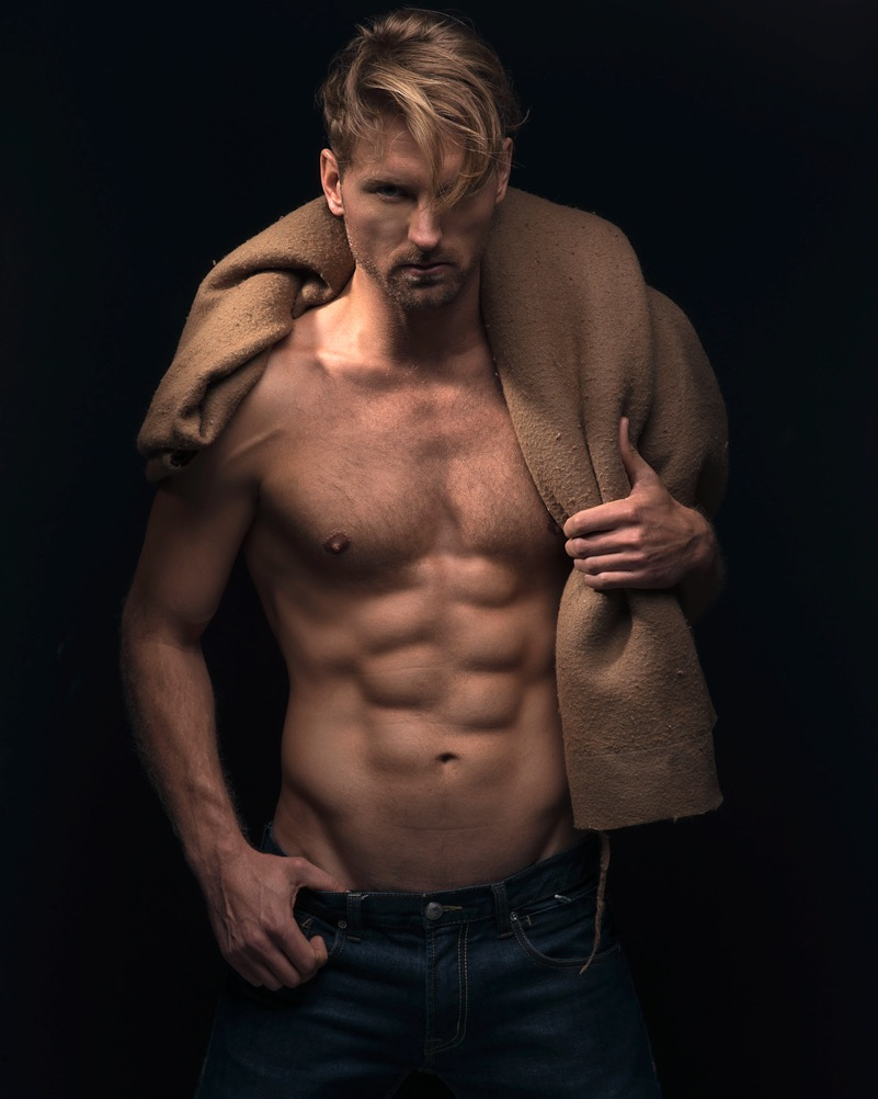 New model in Town, meet Devin Michael photographed by James Loy and Makeup Specialist by AMO.
