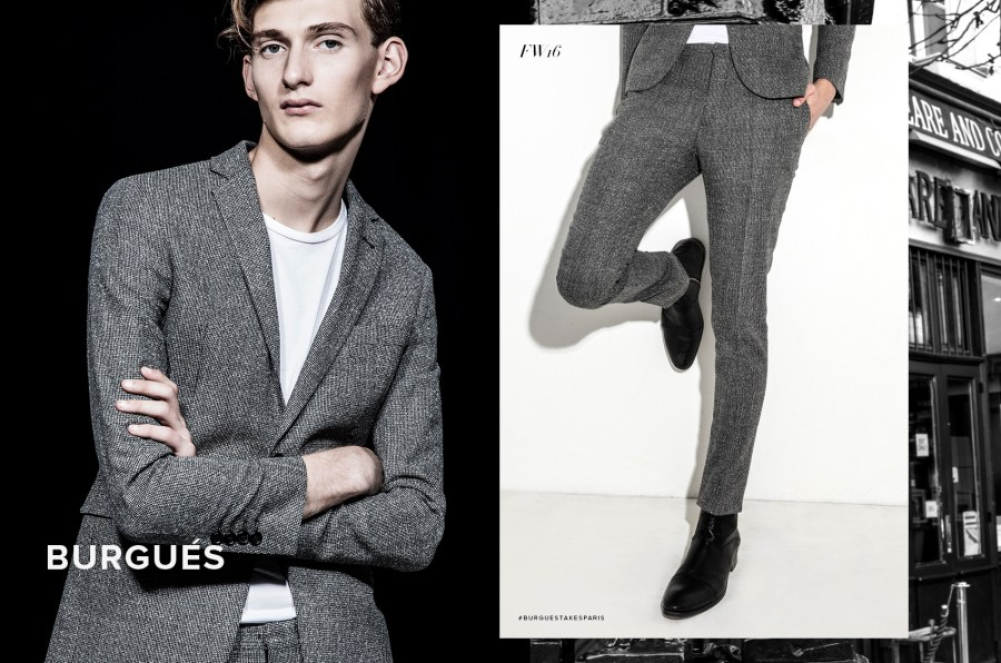 El Burgués is a menswear brand for the urban man looking for the perfect articulation of classic and modern. It has its own signature tailoring with sophisticated textures and rich fabrics.