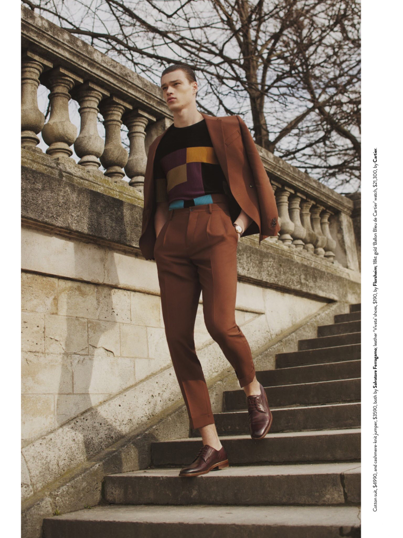 He looks so sleek in that ed! Top model Filip Hrivnak posing sublime for GQ Australia May 2016, shot by Photographer Romain Duquesne, Stylist by Brad Homes and perfectly Grooming by Nobu Fujiwara.