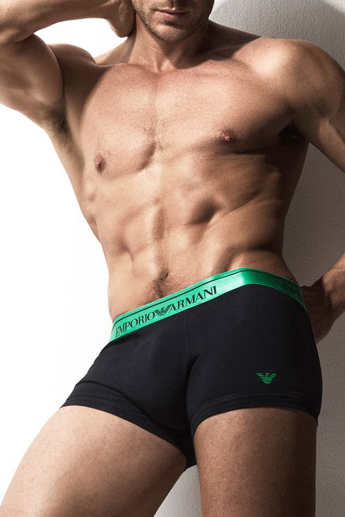 Jason Morgan for Emporio Armani Underwear Catalogue 2016