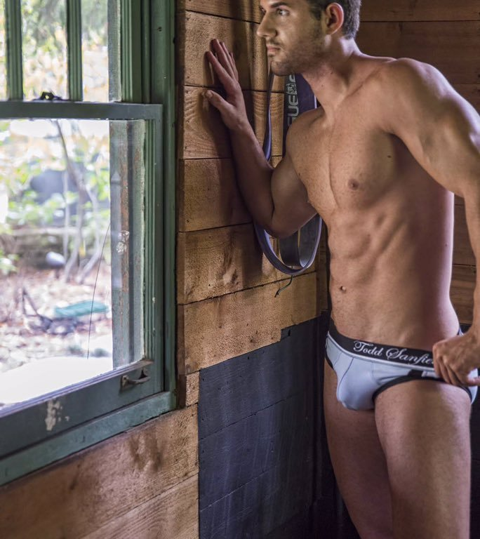 Nolan Ritter, Exercise Science major & budding entrepreneur, is definitely making a splash in the modeling world. The emerging fitness personality has definitely exploded onto the internet in the past year with a variety of sizzling photo shoots that perfectly display his well crafted physique. Most importantly, he's not afraid to flaunt what he's got. Many thanks to Nolan for sending in these shots from his shoot with Carl Proctor in Atlanta from October 2015.