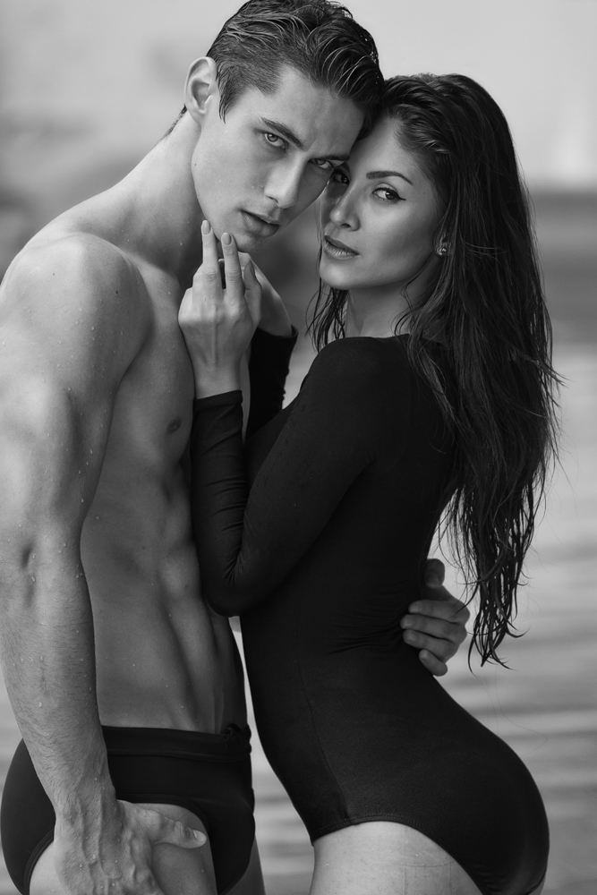 The gorgeous Brazilian male model Everton Stedile & the sexy Argentina female model Betina Canoza for the pool shoot. He's represented by Base Model Management Kuala Lumpur & TWO Management. She's represented by ML Model. Shot by photographer Jason Oung in Kuala Lumpur, Malaysia.