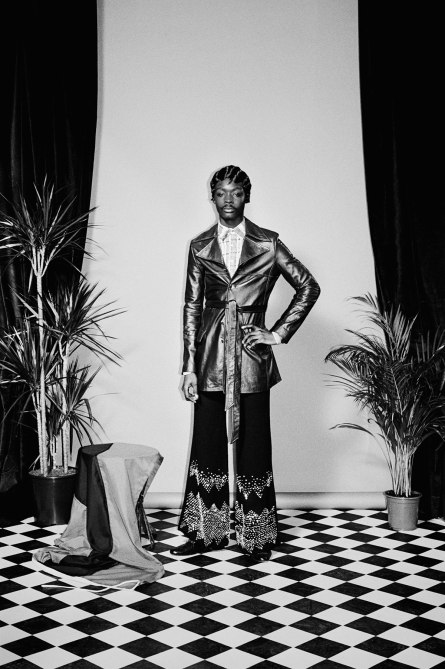 Buffalo Collective Co-Founder Jamie Morgan Brings Wales Bonner's Spring/Summer 2016 Collection to Life with Her Muse King Owusu