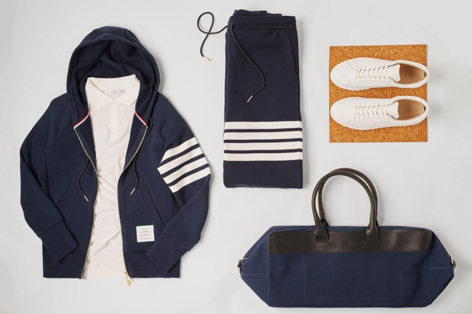 Leisurewear for men isn't news. We've had the sweatshirt, the sneaker, the polo, and of course the tracksuit. Much of the modern man's wardrobe finds its origins in the uniform of sport; this two-piece suit is no different. A 1960s athletic staple to a modern-day favourite, this cultural icon has seen itself transcend across the decades.