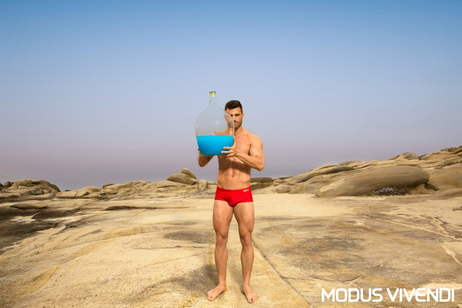 Showing a great passion for men's fashion, Modus Vivendi releases two original lines from its extensive swimwear collection for 2016. The first is called Contrast and features swimwear designs handcrafted with fabrics of the same colour but different finish.