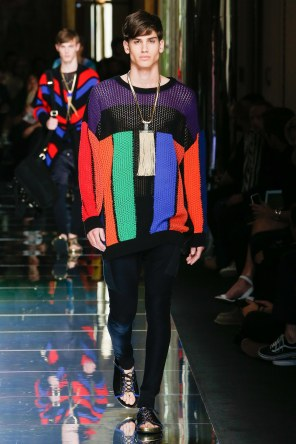 BALMAIN MENSWEAR SPRING SUMMER 2017 PARIS (45)