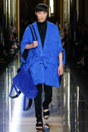 BALMAIN MENSWEAR SPRING SUMMER 2017 PARIS (65)
