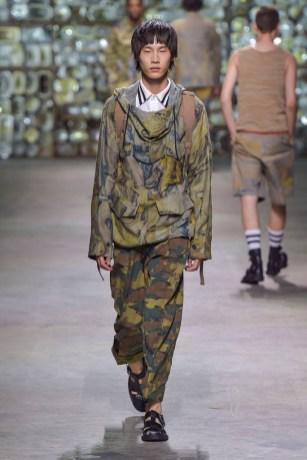 Dries Van Noten show, spring summer 2017, Paris Men's Fashion Week, France - 23 June 2016