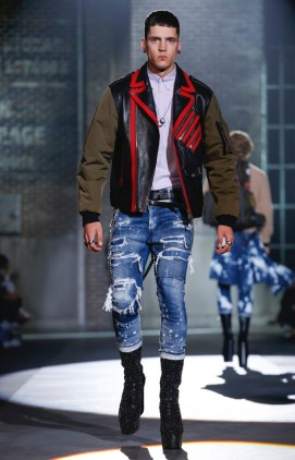 DSQUARED2 MENSWEAR SPRING SUMMER 2017 MILAN (12)