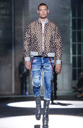 DSQUARED2 MENSWEAR SPRING SUMMER 2017 MILAN (23)