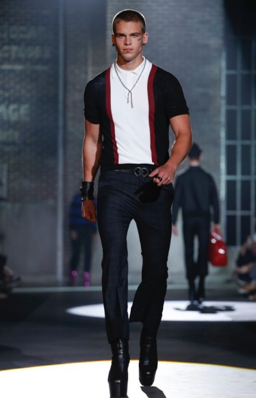 DSQUARED2 MENSWEAR SPRING SUMMER 2017 MILAN (3)