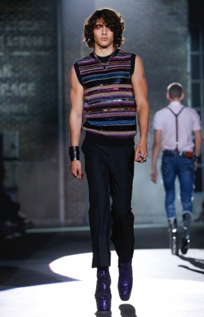 DSQUARED2 MENSWEAR SPRING SUMMER 2017 MILAN (7)