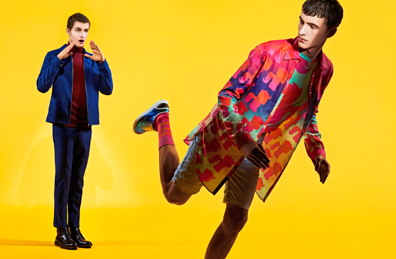 ''Trends'' showcases upcoming model Erik van Seventeren from Republic Men in the must-have clothes to wear this summer. Erik is wearing Dolce & Gabbana, Katie Eary, Richard James, Dior Homme, Paul Smith and Missoni to name a few.