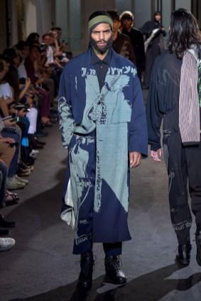 Yohji Yamamoto Men's Spring 2017