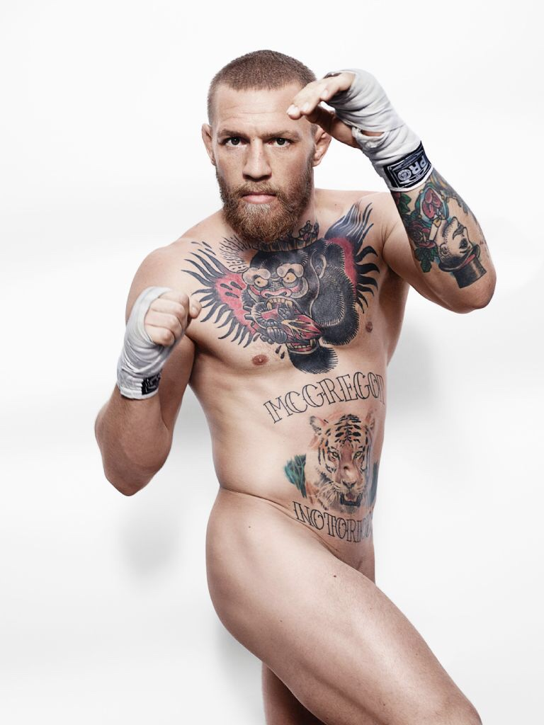 Conor McGregor -- Irish UFC MMA Fighter, Naked in EPSN Magazine August 2016 (2)
