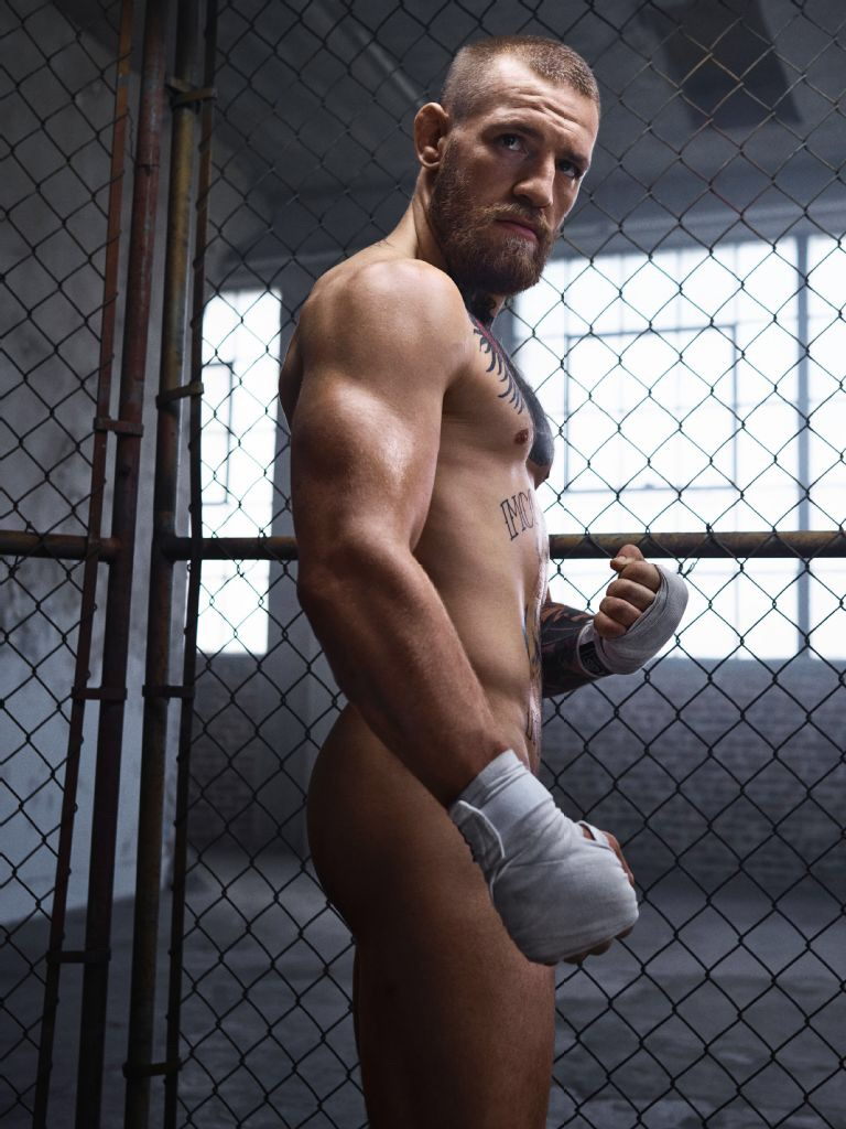 Conor McGregor -- Irish UFC MMA Fighter, Naked in EPSN Magazine August 2016 (7)