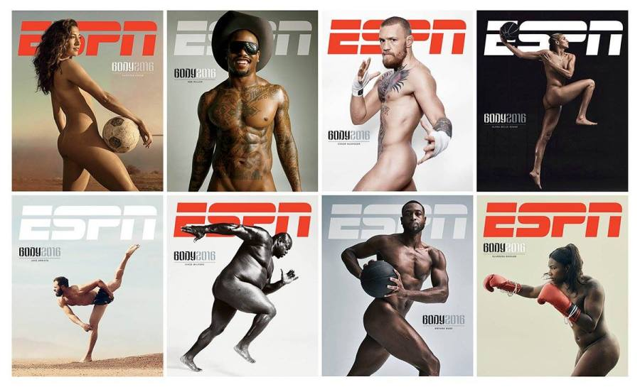ESPN Body Issue 2016