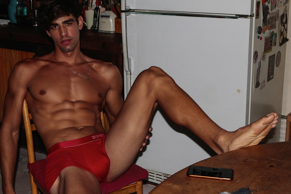 Warning: These 9 sexiest shots by Joseph Lally you should never ignore, featuring male model Luis Ocasio from RED Agency in NYC, self-confidence exploring his manly toned body, he's so extrovert and no same at all in front of the lens by photographer Joseph Lally.