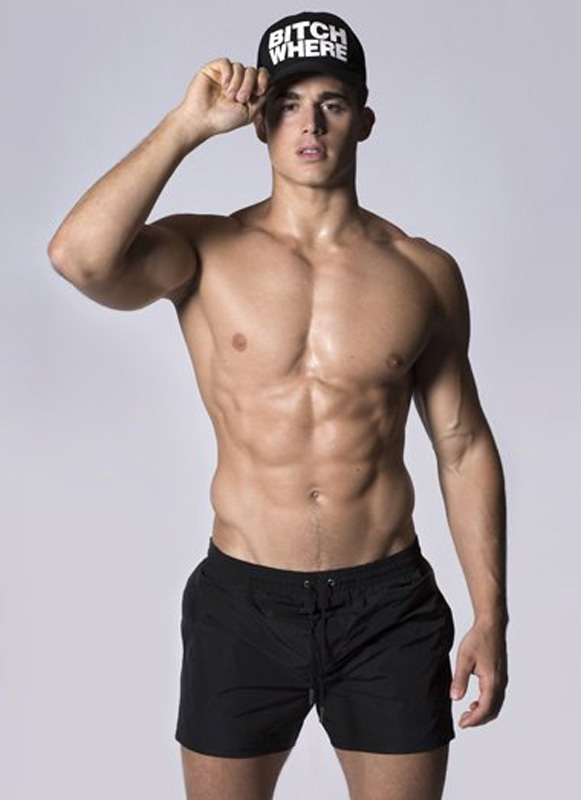 Pietro Boselli for Dsquared2.com!!! Online exclusive, now available!