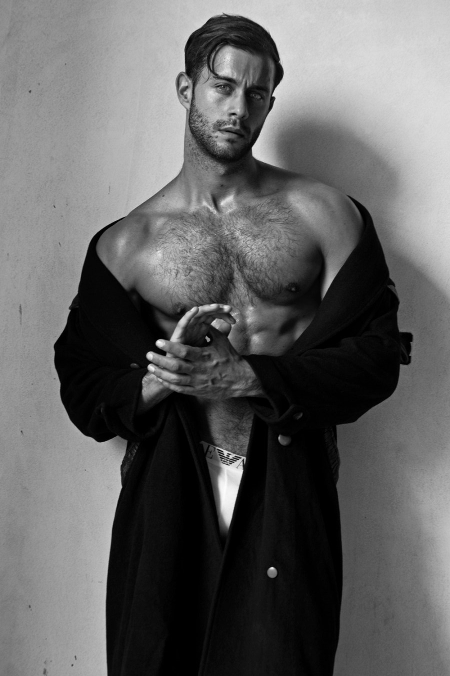 Photographer Sandy Lang is becoming in favorite portraits fitness and sexy models like Adam Phillips who is posing his entire fit body to the lens of the fab shooter.