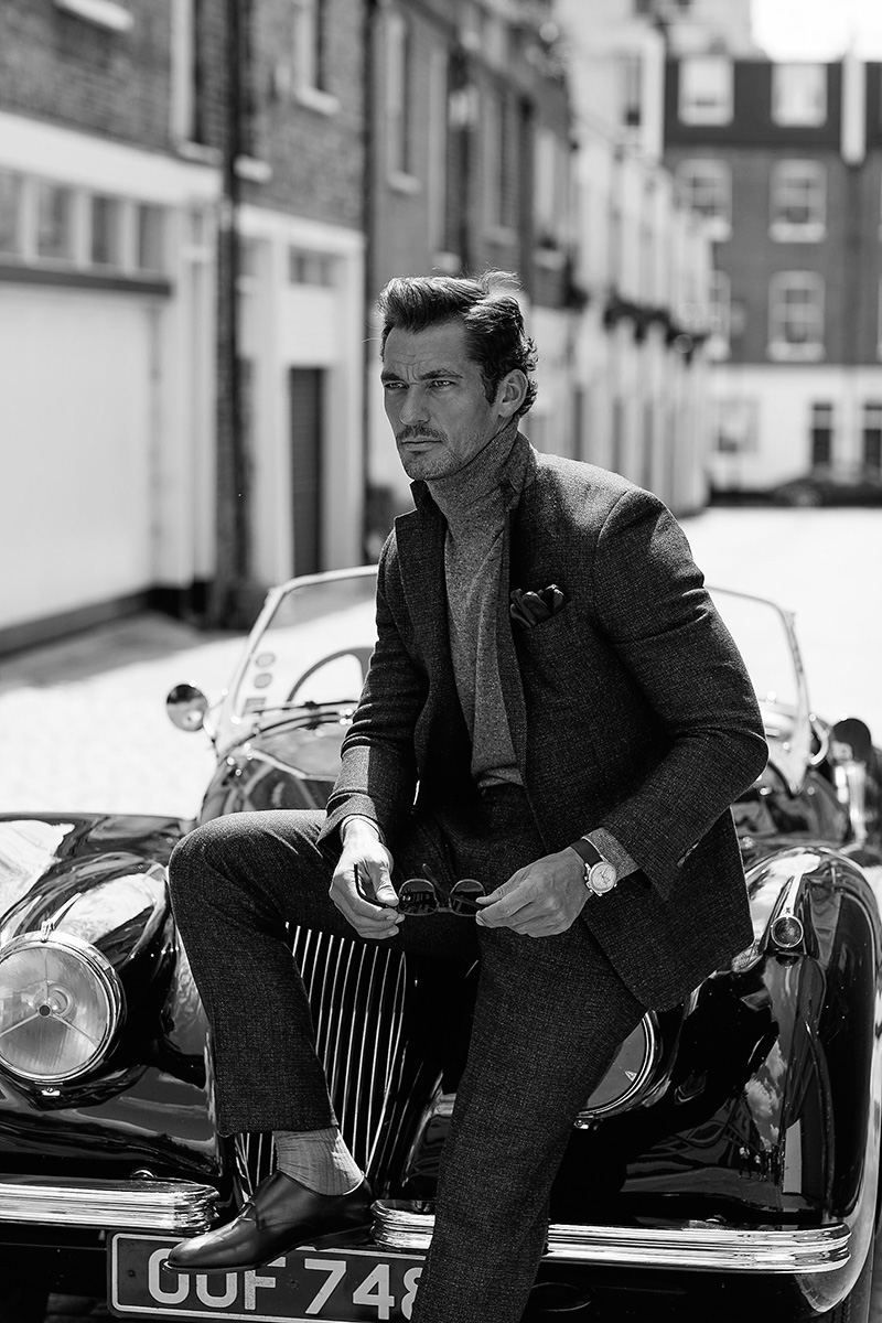 David Gandy photographed by Arnaldo Anaya-Lucca and styled by Richard Pierce, for the September 2016 coverstory of Vanity Fair UK.